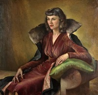retrato femenino by rigoberto soler [perez]